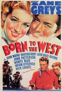 Born to the West - 27 x 40 Movie Poster - Style A