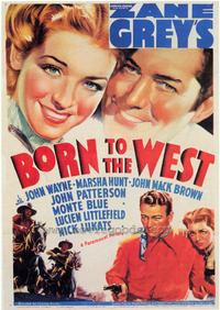 Born to the West - 43 x 62 Movie Poster - Bus Shelter Style A