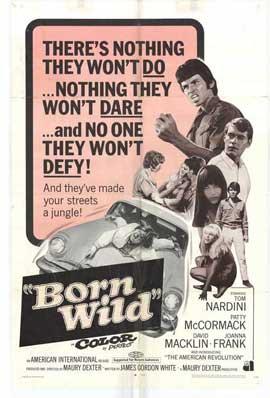 Born Wild - 11 x 17 Movie Poster - Style B