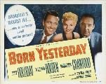 Born Yesterday - 30 x 40 Movie Poster UK - Style A