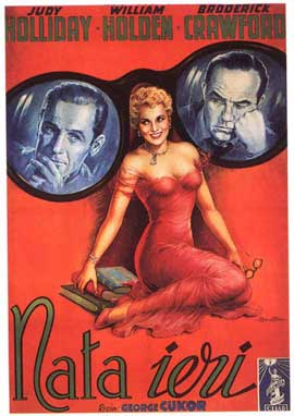 Born Yesterday - 11 x 17 Movie Poster - Italian Style A