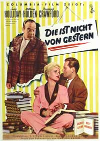 Born Yesterday - 11 x 17 Movie Poster - German Style A
