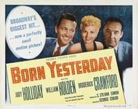 Born Yesterday - 11 x 14 Movie Poster - Style A