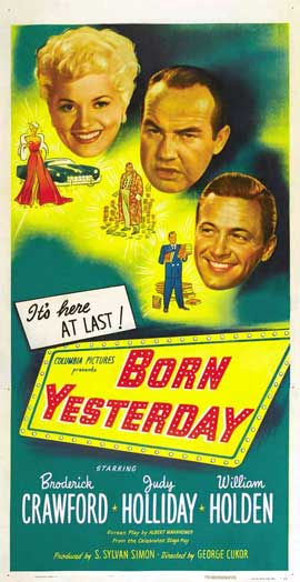 Born Yesterday - 27 x 40 Movie Poster - Style A
