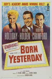 Born Yesterday - 11 x 17 Movie Poster - Style C