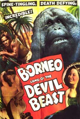 Borneo - 27 x 40 Movie Poster - Style B