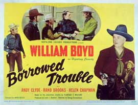 Borrowed Trouble - 11 x 14 Movie Poster - Style A
