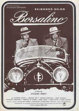 Borsalino - 11 x 17 Movie Poster - Spanish Style A