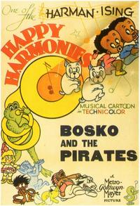 Bosko and the Pirates - 11 x 17 Movie Poster - Style A