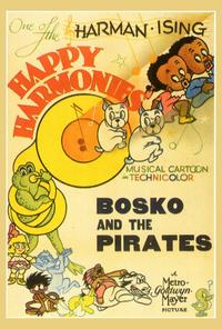 Bosko and the Pirates - 27 x 40 Movie Poster - Style A