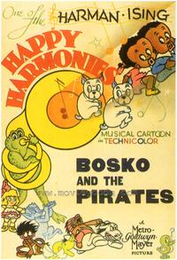 Bosko and the Pirates - 43 x 62 Movie Poster - Bus Shelter Style A