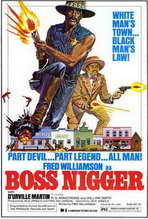 Boss Nigger - 27 x 40 Movie Poster - Style A