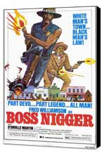 Boss Nigger - 11 x 17 Movie Poster - Style A - Museum Wrapped Canvas