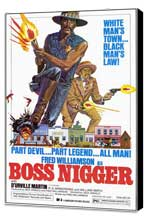 Boss Nigger - 27 x 40 Movie Poster - Style A - Museum Wrapped Canvas