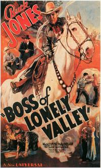 Boss of Lonely Valley - 11 x 17 Movie Poster - Style A