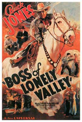 Boss of Lonely Valley - 27 x 40 Movie Poster - Style A