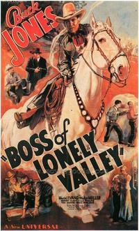 Boss of Lonely Valley - 43 x 62 Movie Poster - Bus Shelter Style A