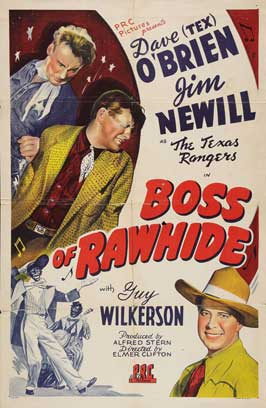 Boss of Rawhide - 11 x 17 Movie Poster - Style A