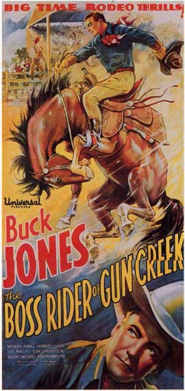 Boss Rider of Gun Creek - 11 x 17 Movie Poster - Style B