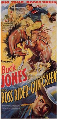 Boss Rider of Gun Creek - 27 x 40 Movie Poster - Style B