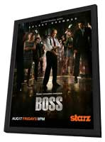 Boss (TV) - 11 x 17 TV Poster - Style B - in Deluxe Wood Frame