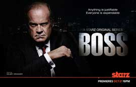 Boss (TV) - 11 x 17 TV Poster - Style A