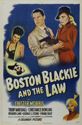 Boston Blackie and the Law - 27 x 40 Movie Poster - Style A