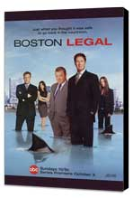 Boston Legal - 27 x 40 TV Poster - Style A - Museum Wrapped Canvas