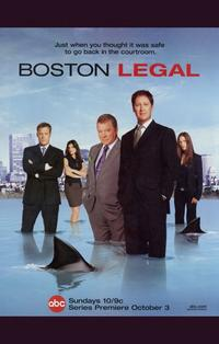Boston Legal - 11 x 17 TV Poster - Style A