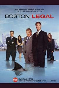 Boston Legal - 27 x 40 TV Poster - Style A