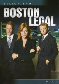 Boston Legal - 27 x 40 TV Poster - Style E