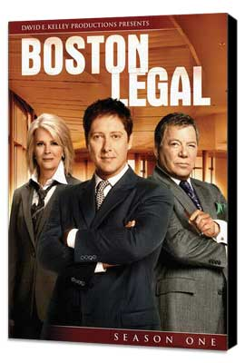 Boston Legal - 27 x 40 TV Poster - Style L - Museum Wrapped Canvas
