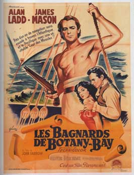 Botany Bay - 11 x 17 Movie Poster - French Style A
