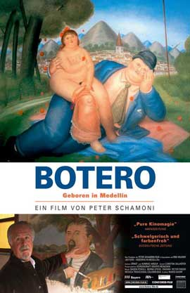 Botero Born in Medellin - 11 x 17 Movie Poster - German Style A