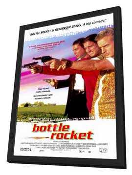 Bottle Rocket - 11 x 17 Movie Poster - Style B - in Deluxe Wood Frame