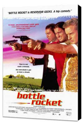 Bottle Rocket - 11 x 17 Movie Poster - Style B - Museum Wrapped Canvas