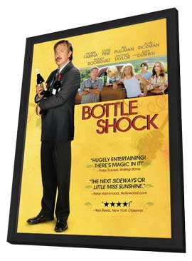 Bottle Shock - 11 x 17 Movie Poster - Style C - in Deluxe Wood Frame