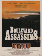 Boulevard des assassins - 11 x 17 Movie Poster - French Style A