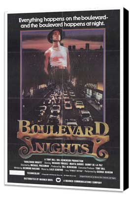 Boulevard Nights - 27 x 40 Movie Poster - Style A - Museum Wrapped Canvas