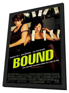 Bound - 11 x 17 Movie Poster - Style A - in Deluxe Wood Frame