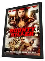 Bounty Killer - 27 x 40 Movie Poster - Style A - in Deluxe Wood Frame