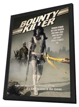 Bounty Killer - 11 x 17 Movie Poster - Style B - in Deluxe Wood Frame