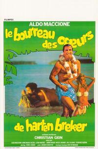 Bourreau des coeurs, Le - 11 x 17 Movie Poster - Belgian Style A