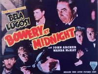 Bowery at Midnight - 11 x 14 Movie Poster - Style A