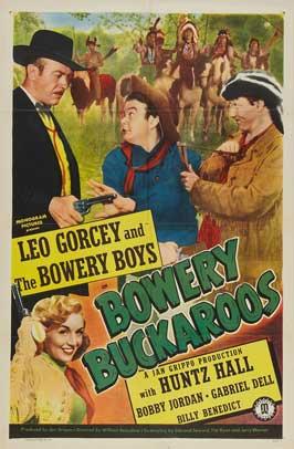 Bowery Buckaroos - 11 x 17 Movie Poster - Style D