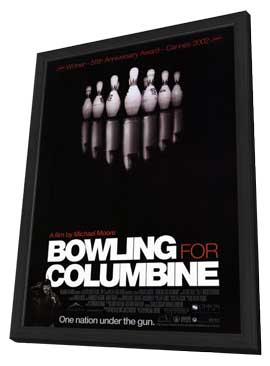 Bowling for Columbine - 27 x 40 Movie Poster - Style A - in Deluxe Wood Frame