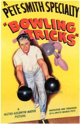 Bowling Tricks - 27 x 40 Movie Poster - Style A
