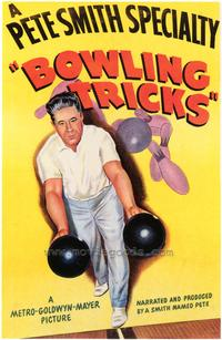 Bowling Tricks - 43 x 62 Movie Poster - Bus Shelter Style A