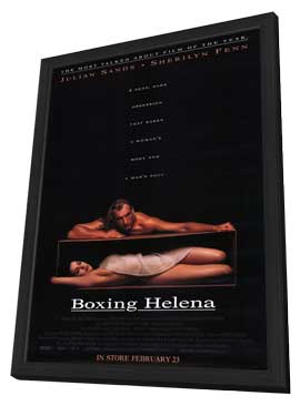 Boxing Helena - 11 x 17 Movie Poster - Style A - in Deluxe Wood Frame