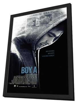 Boy A - 27 x 40 Movie Poster - Style A - in Deluxe Wood Frame